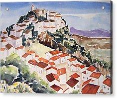 Tresorio De San Martin Acrylic Print by Regina Ammerman