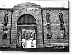 Trial Bay Jail Acrylic Print by Kaye Menner