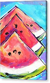 Triangulations Acrylic Print