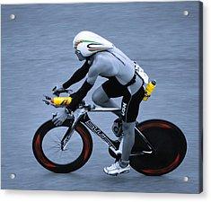 Triathlon Man Acrylic Print