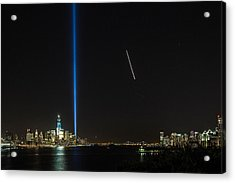 Tribute In Light Acrylic Print by John Dryzga