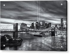 Tribute In Light V Acrylic Print by Clarence Holmes
