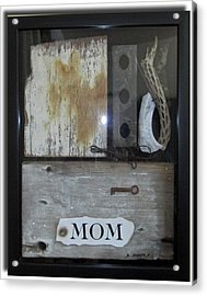 Tribute To Mom Acrylic Print by Snake Jagger