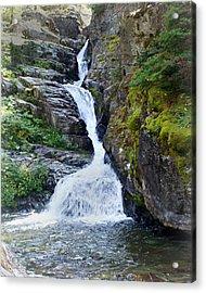Tricky Falls Acrylic Print by Marty Koch