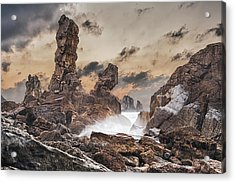 Trident Acrylic Print by Evgeni Dinev