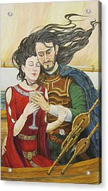 Tristan And Isolde Acrylic Print by Judy Riggenbach