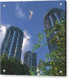Triton Towers Acrylic Print by Richard Rizzo