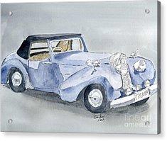Triumph Roadster 45-49 Acrylic Print