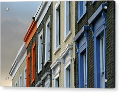 Trois Couleurs Camden Acrylic Print by Michael Reeve