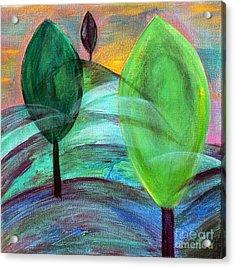 Trois Trees Acrylic Print