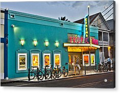 Tropic Cinema Acrylic Print
