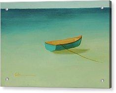 Tropical Calm Acrylic Print by Diane Cutter