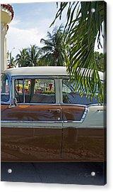 Tropical Chevy Acrylic Print by Cheri Randolph