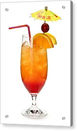 Tropical Cocktail Acrylic Print