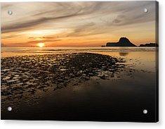 Tropical Colorful Sunset  Acrylic Print by Panya Jampatong