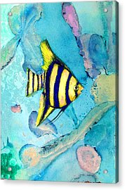 Tropical Fish I Acrylic Print