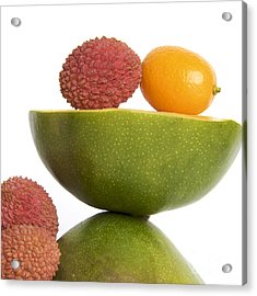 Tropical Fruits Acrylic Print by Bernard Jaubert