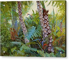 Tropical Underwood Acrylic Print