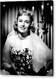 Trouble Along The Way, Donna Reed, 1953 Acrylic Print by Everett