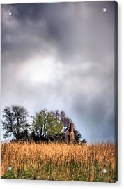 Trouble Brewing II Acrylic Print by JC Findley