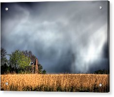 Trouble Brewing  Acrylic Print by JC Findley
