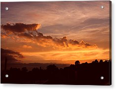 Trowbridge Sunset Acrylic Print
