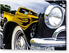 Truck Reflection Acrylic Print by Ursula Lawrence