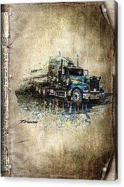 Truck Acrylic Print by Svetlana Sewell