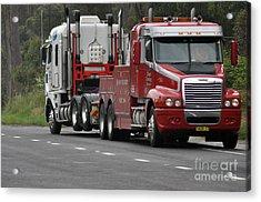 Truck Tow Acrylic Print by Joanne Kocwin