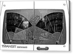 Truck Windshield Acrylic Print by Robert Ullmann