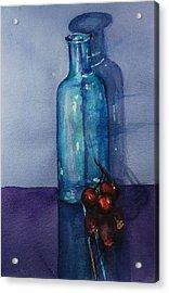 True Friends Are Transparent Acrylic Print by Donna Pierce-Clark
