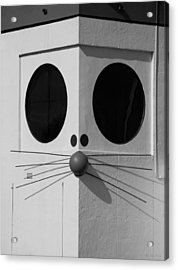 Truly Nolen Rat In Black And White Acrylic Print by Rob Hans