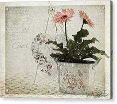 Trust  Acrylic Print by Sandra Rossouw