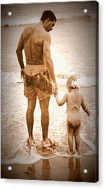 Trusting Daddy Acrylic Print