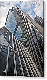 Trylon Towers Acrylic Print