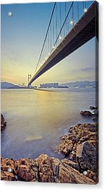 Tsing Ma Bridge Acrylic Print by Andi Andreas