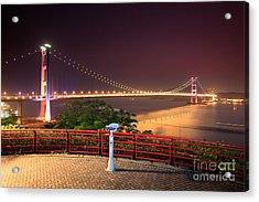 Tsing Ma Bridge Acrylic Print
