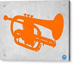 Tuba  Acrylic Print by Naxart Studio