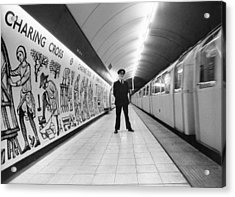 Tube Train Murals Acrylic Print by Evening Standard