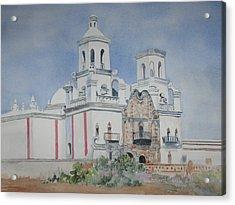 Tucson Mission Acrylic Print