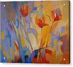 Tulip Song Acrylic Print by Marty Husted