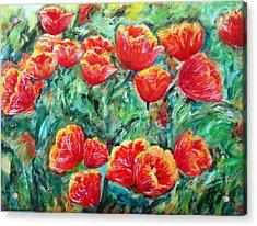 Tulips Expression Acrylic Print