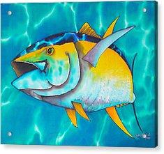Tuna Acrylic Print by Daniel Jean-Baptiste