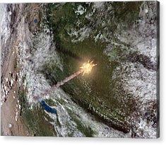 Tunguska Event Acrylic Print by Joe Tucciarone