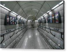 Tunnel Acrylic Print by Svetlana Sewell