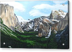 Tunnel View Acrylic Print by Travis Day