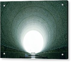 Tunnel Vision Acrylic Print by Jan W Faul