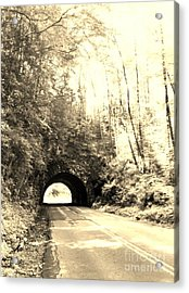 Tunnel Vision Acrylic Print by Janice Spivey