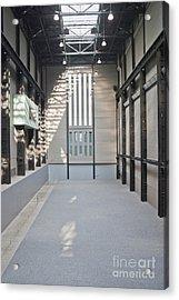Turbine Hall Of Tate Modern Acrylic Print by John Harper