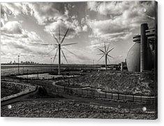 Turbines In Motion Acrylic Print